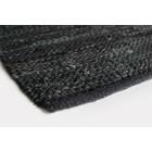 Aspegren Floor Mat Leather black 70x130