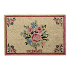 Green Gate Doormat Nicoline white