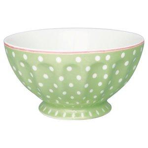 Green Gate French Bowl Spot pale green XL
