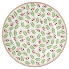 Green Gate Plate Lily petit white