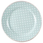 Green Gate Plate Spot pale blue