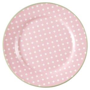 Green Gate Dessertteller Spot pale pink