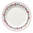 Green Gate Kids Plate Ruby petit white
