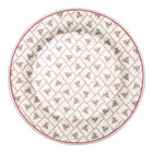 Green Gate Plate Rita pale pink