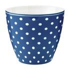 Green Gate Latte Cup Spot blue