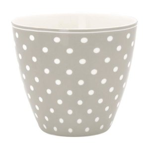 Green Gate Latte Cup Spot grey