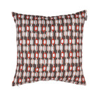 Spira of Sweden FÄLT Cushion Cover teracotta