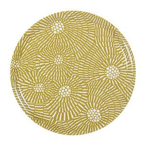 Spira of Sweden VIRVELVIND Tablett mustard 38 cm