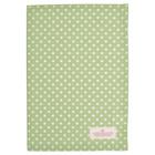 Green Gate Tea Towel Spot green