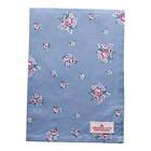 Green Gate Tea Towel Nicoline dusty blue