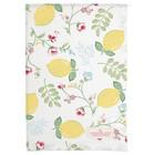 Green Gate Tea Towel Limona white