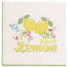 Green Gate Paper Napkin Limona small