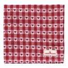 Green Gate Napkin Heart petit red