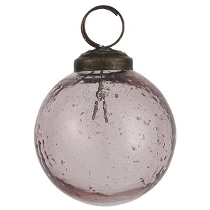 IB Laursen Glaskugel Pebble rosa
