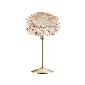 UMAGE Tischlampe Eos mini light brown Champagne Table Stand
