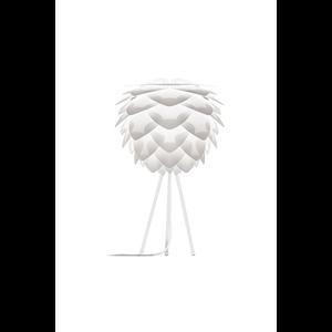 UMAGE Tischlampe Silvia mini white Table Tripod  white