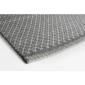 Aspegren Teppichläufer Rhombe dark grey 70x270 cm