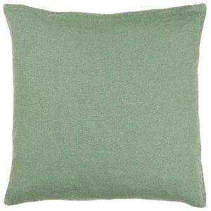 IB Laursen Leinen-Kissenbezug grün 50x50