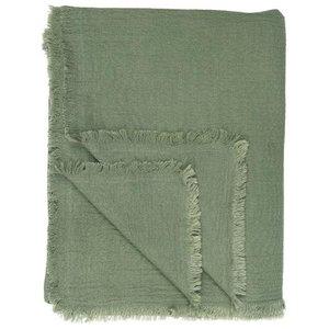 IB Laursen Plaid doppel gewebt grün, 130x170