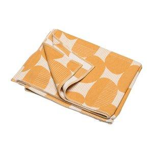David Fussenegger SYLT Decke Ovale gelb 140x200