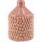 Keramikvase rosa 9x13h
