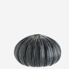 Madam Stoltz Sea Urchins Vase dark grey black
