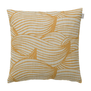 Spira of Sweden WAVE Cushion Cover honey 47x47 cm