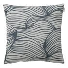 Spira of Sweden WAVE Cushion Cover blue 50