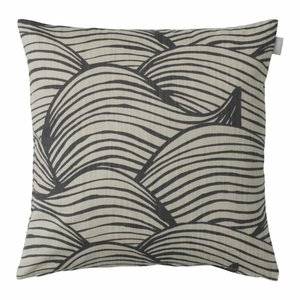 Spira of Sweden WAVE Cushion Cover grey 47x47 cm