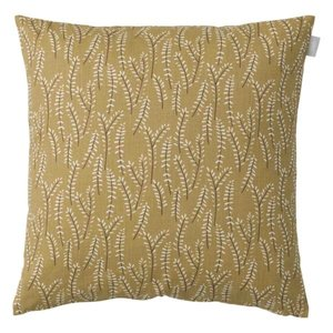 Spira of Sweden KVIST Cushion Cover ocher 47x47 cm