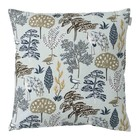 Spira of Sweden FLORA Cushion Cover blue 50