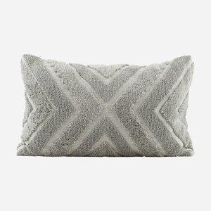 House Doctor Pillowcase India Grey 40x60