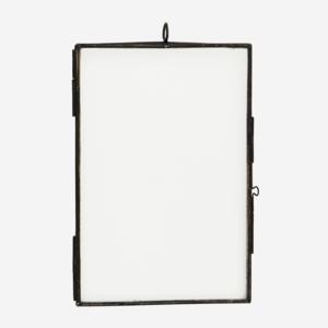 Madam Stoltz Antik Black Hanging Photo Frame 7x12,5