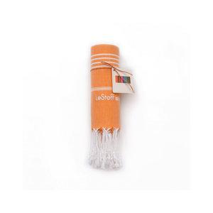 Le Stoff Hammamtuch orange 100x180