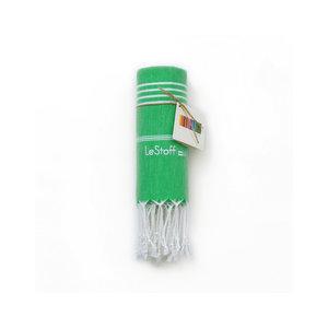 Le Stoff Hammamtuch Grasgrün 100x180
