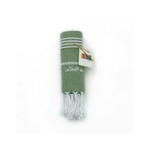 Le Stoff Hammamtuch olivgrün 100x180