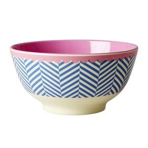Rice Melamine Bowl Sailor Stripe