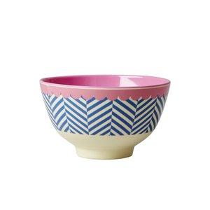 Rice Melamine Bowl small Sailor Stripe