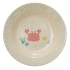 Rice Melamine Kids Bowl  Ocean Life