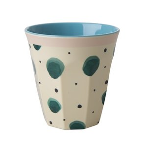 Rice Melamine Cup Watercolor Splash