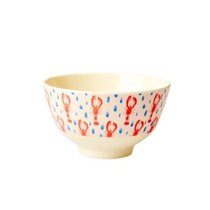 Rice Melamine Bowl small Lobster