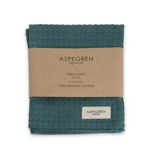 Aspegren Spültuch Organic Cotton North Pine, 2er-Set 32x40