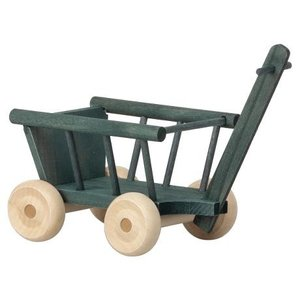 Maileg Wagon Micro Mint Grey