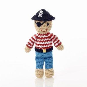 Pebble Pirate Rattle 18 cm