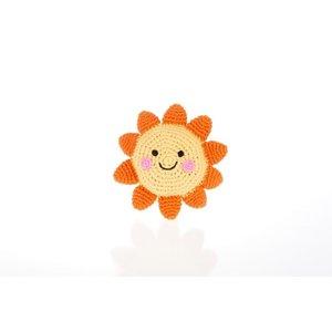 Pebble Friendly Sun Rattle 14 cm