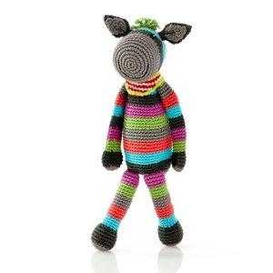 Pebble Donkey Rattle multi 31 cm