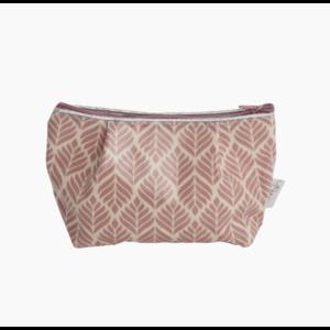Au Maison Cosmetic Bag Trigo Woodrose grey 15x11x6