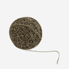 Madam Stoltz Jute Cord Lurex Natural Black