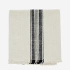 Madam Stoltz Striped Kitchen Towel off white