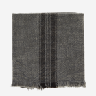 Madam Stoltz Striped Kitchen Towel dark grey